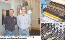 Air-Way Manufacturing Improves Efficiency with PAWS Workholding Modular Hydraulic System