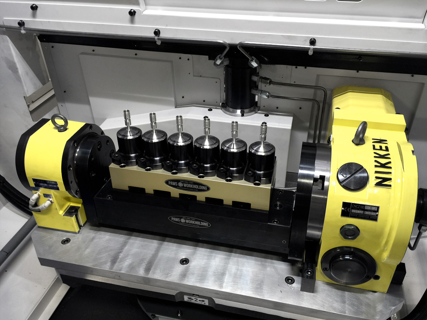 Fourth Axis Solutions Paws Workholding