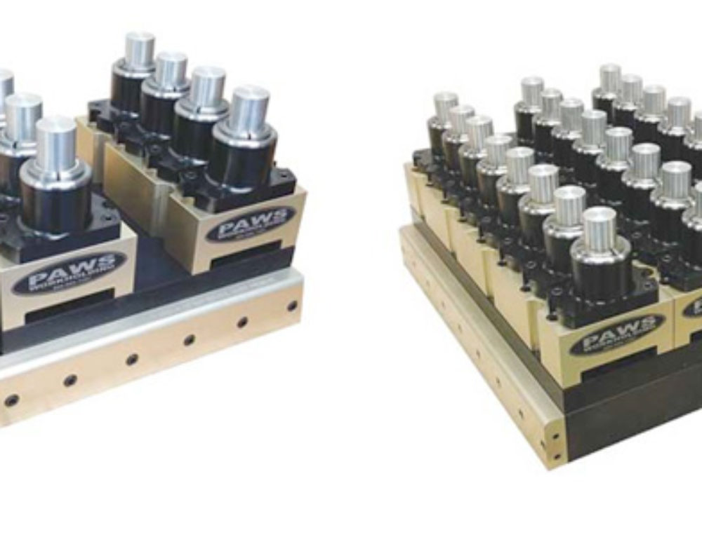 PAWS Workholding Announces New 5C Collet Clamping System