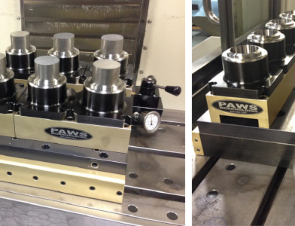 PAWS to Debut an Eight Station 3J Collet Clamping System at IMTS