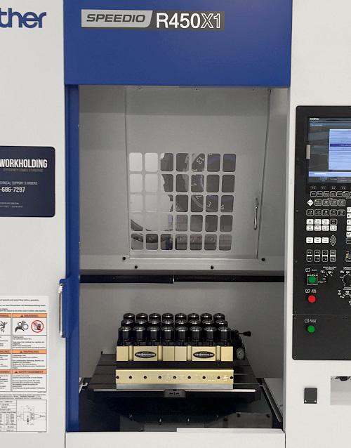 5c Collet System Brother Speedio R450X1